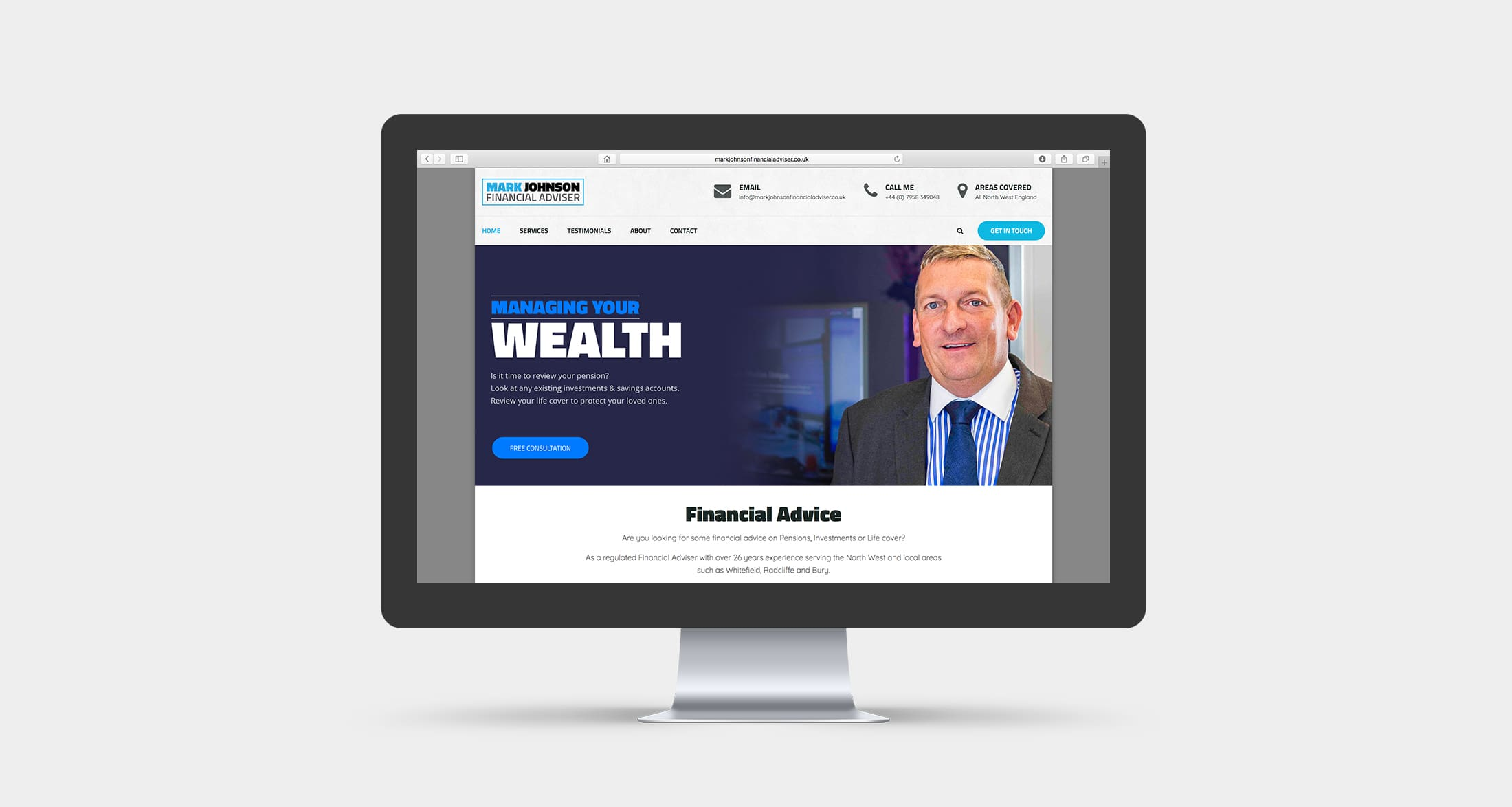 Mark Johnson Financial Adviser